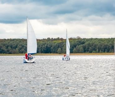 I Regaty o Nic - jezioro Mamry 2019